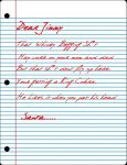 A leter from santa