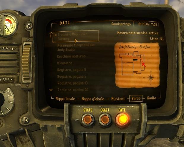 Items: Treasure Maps