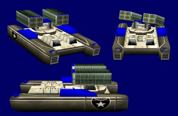 "M14A8 ""Reaper"" Hover MLRS"