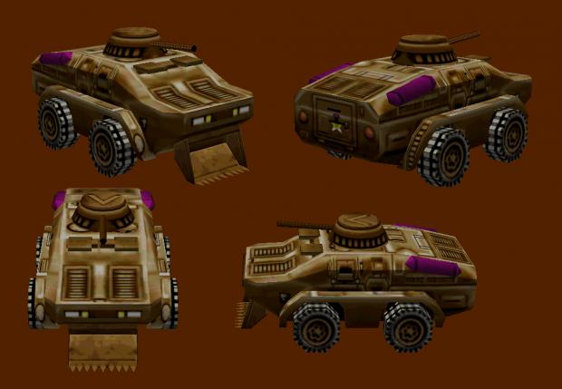 BRDM-3 Wild Raider Scout