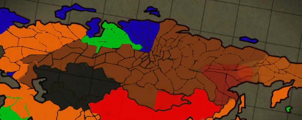 The 8 Power War - The Eurasian Continent