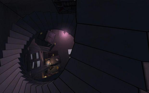 Roomette stair