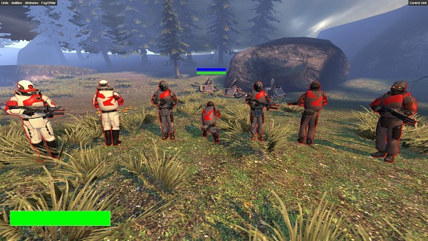 Combine infantry team color is finalized