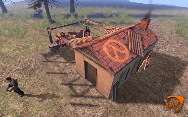 Updated rebel barracks