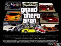GT mod loading screen, the mod has all these cars