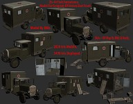 ZiS 44 Field Ambulance Final Render!