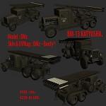 BM-13 Katyusha render!