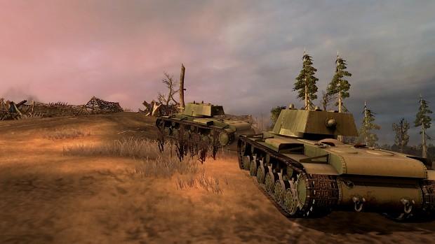 Testing new KV-1