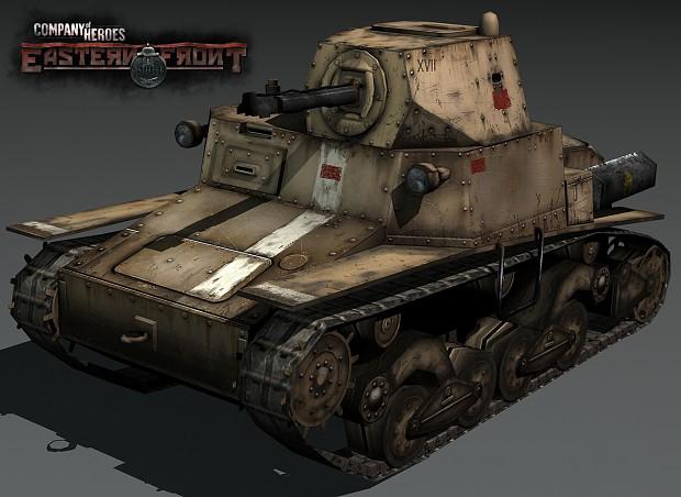 Fiat L6 Lf (Flame Tank)