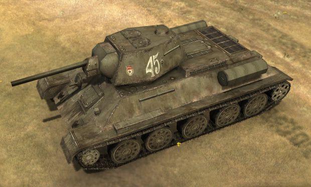 Updated T-34 Skin