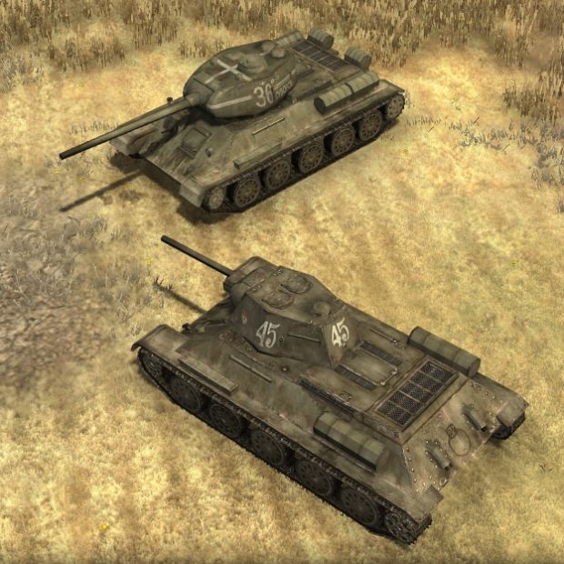Updated T-34/85 Skin