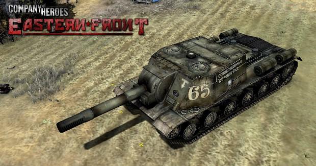 Updated ISU-152 skin