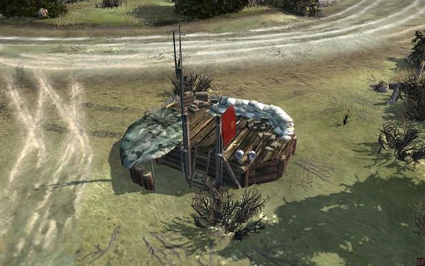 New Support Barracks building