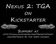 Nexus 2: The Gods Awaken on Kickstarter