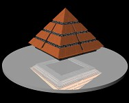 Pyramid ship (New model)