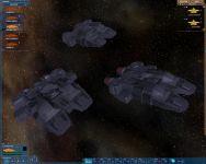 Traveler ship (updated mesh + temporary textures)