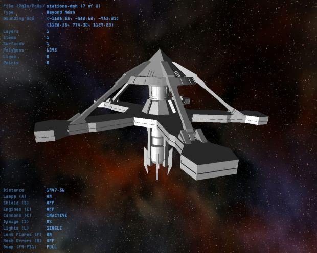 Goa'uld Space Station - WIP