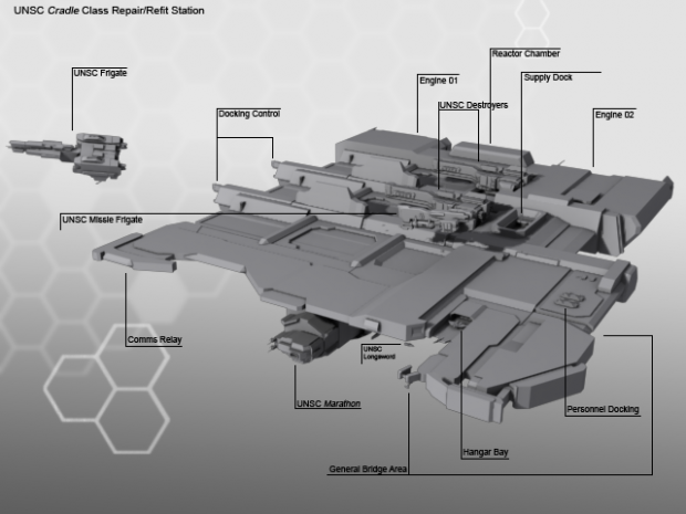 UNSC Repair and Refit station image - Operation: HOMEFRONT ...