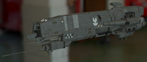 UNSC Gladius-class Heavy Corvette