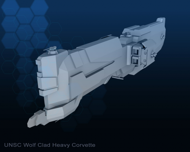Wolf clad Heavy Corvette image - Operation: HOMEFRONT mod ...