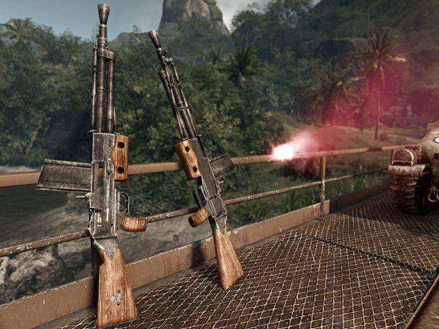 Le fusil-mitrailleur de 7,5 mm modèle 1924