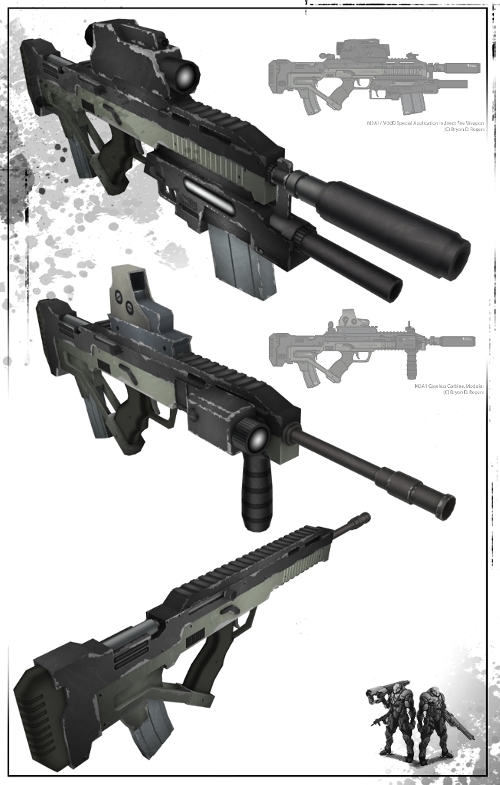 M3 Carbine Render