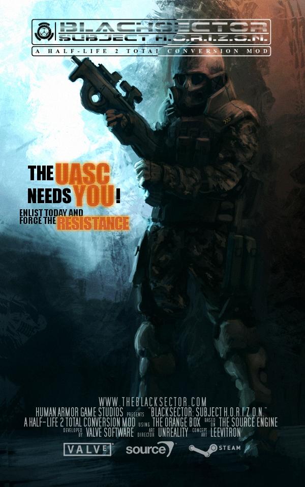 BLACKSECTOR Poster #2
