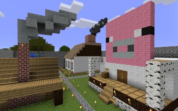 AdventureCraft Custom Map - Lumberjack