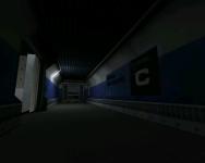 Lambda Level C Elevator Exit