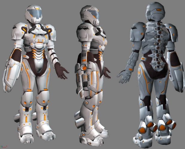 Valkyrie Suit Model