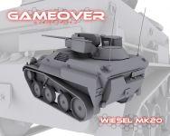 Weasel Model WIP Pic 2