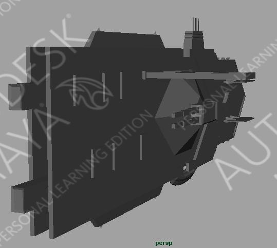 Commonwealth Destroyer Render
