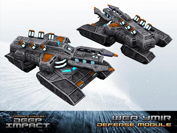 WEA Ymir Cryo Tank Defense Module