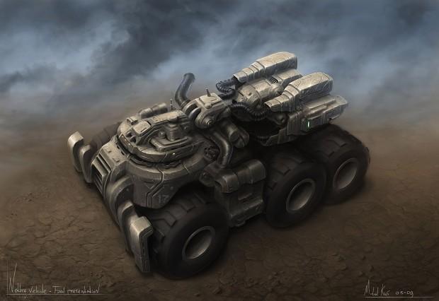 Concept Art - Nethia Truck