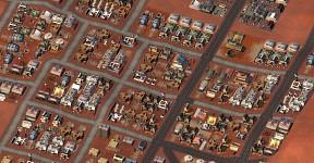 SimMars Beta 3 - Suburban scene