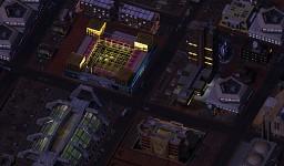 SimMars Beta 3 - Urban night