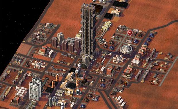 SimMars Beta 3 - Tower Town