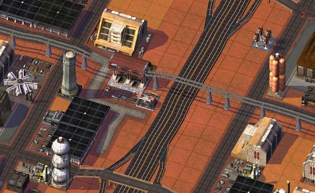 SimMars Beta 3 - Magnetic Rail