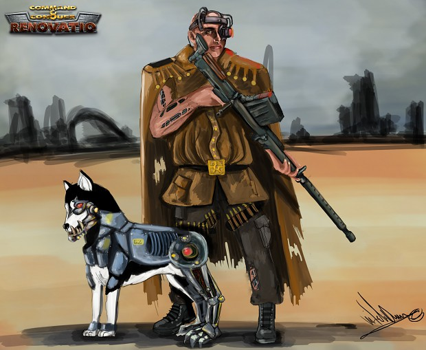 Volkov Reporting And his dog Chitzkoi