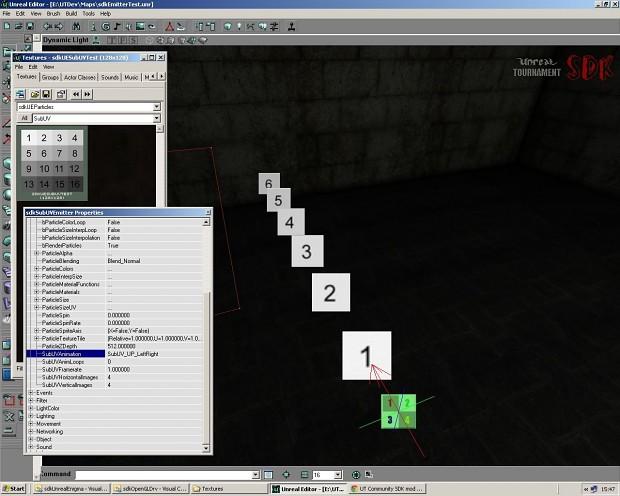 UTSDK September Beta Preview 4 (SubUV Emitter)