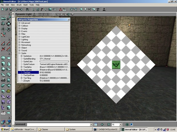 UTSDK January Beta Preview 3 (Rotatable Textures)
