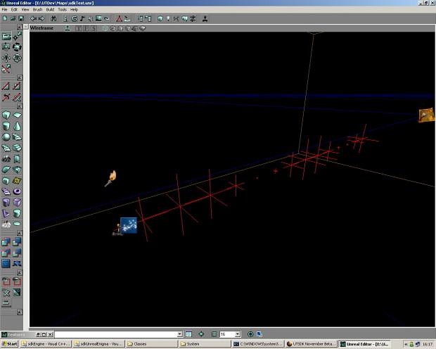 UTSDK Novermber Beta Preview 2 (Wireframe)