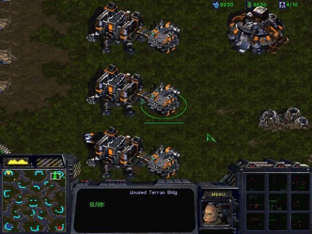 Barracks With Beta Terran Accelerator