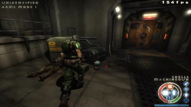 Doom Marine Gameplay