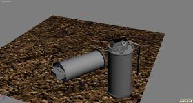 Smoke-Grenade  - by Kevin Bryson