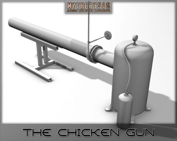 The Chicken Gun Back - Untextured image - MythCrysis mod ...