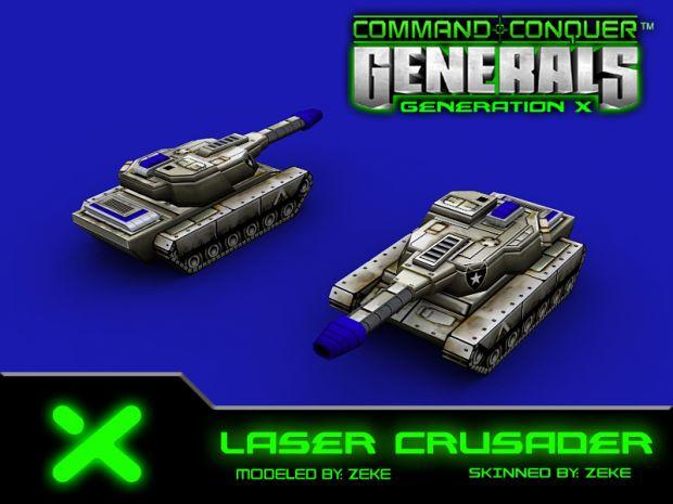 New Laser Crusader Model