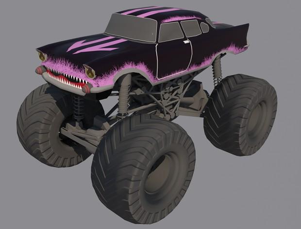 DustShark car. W.I.P.