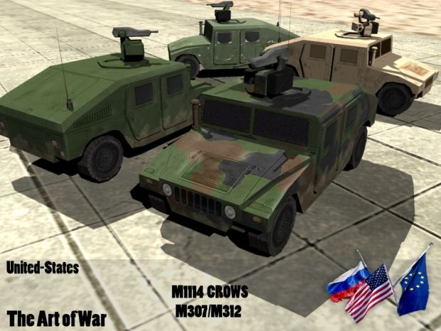 M1114 CROWS