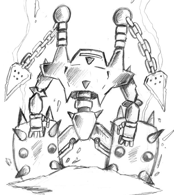 Flail Robot concept